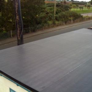epdm plaatsen op plat dak