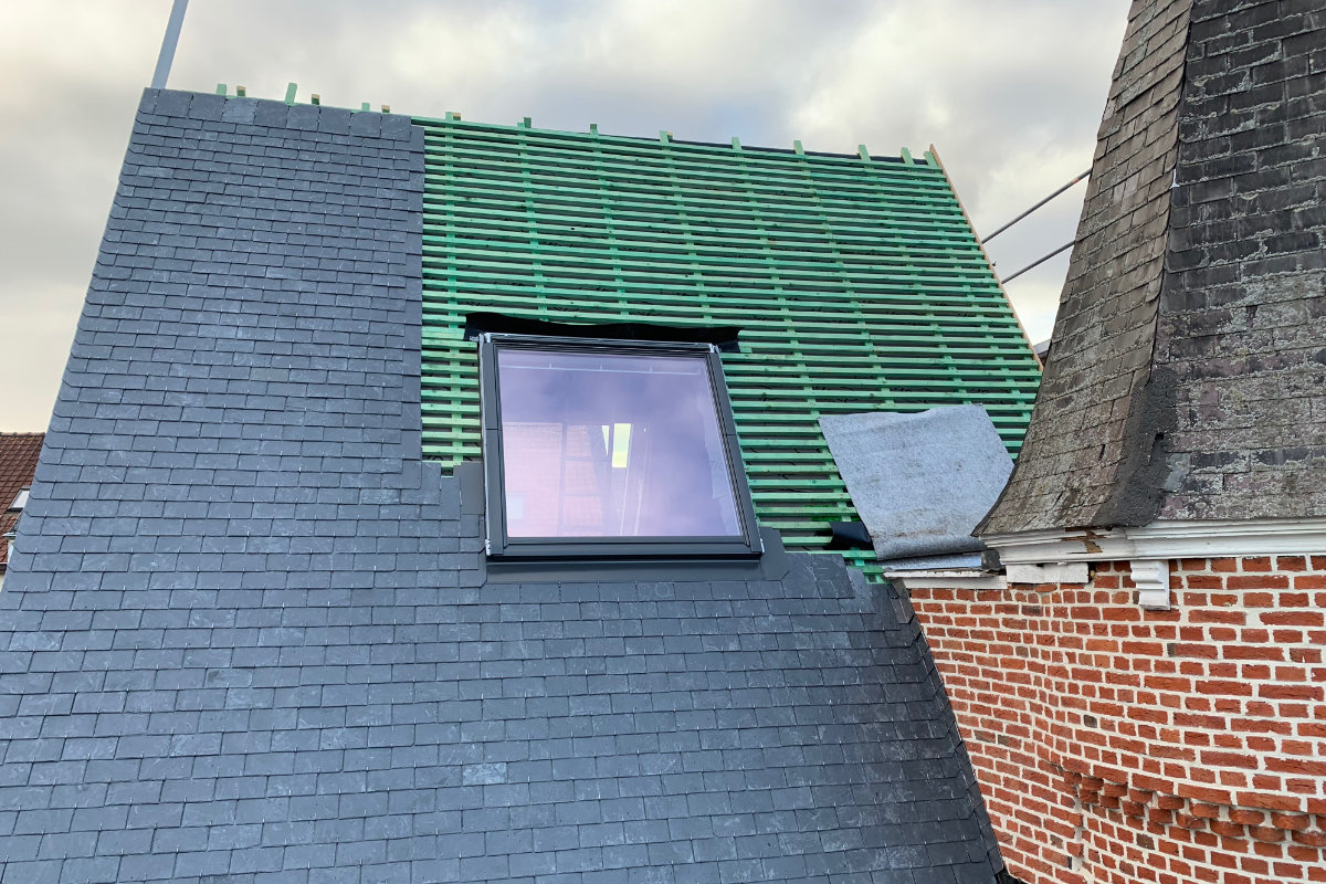 leien dak vervangen