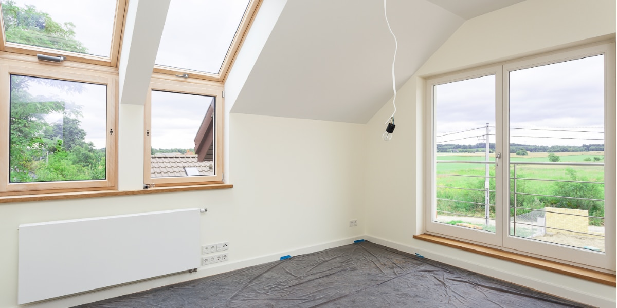 Plat dak opbouw